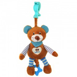Baby Musical Pull Toy - Bear