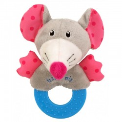 Plush Rattle Mouse