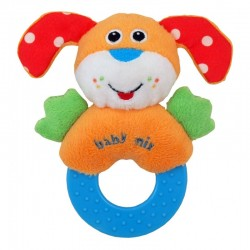 Plush Rattle Dog