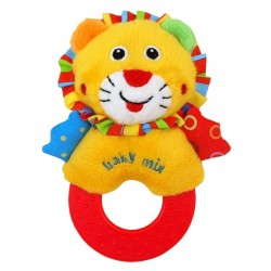 Plush Rattle Lion
