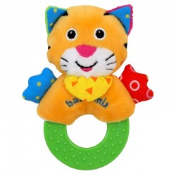 Plush Rattle Tiger