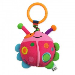 Vibrating plush toy Ladybug