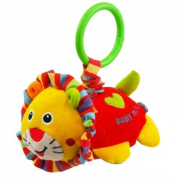 Vibrating plush toy Lion